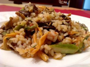 recetas con rebozuelos - rebozuelos recetas - arroz con rebozuelos