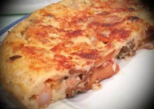 camagrocs recetas - Tortilla de gambas con Rossinyols y Camagrocs